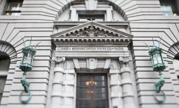 Ninth Circuit Court of Appeals.  Credit: Jason Doiy/The Recorder