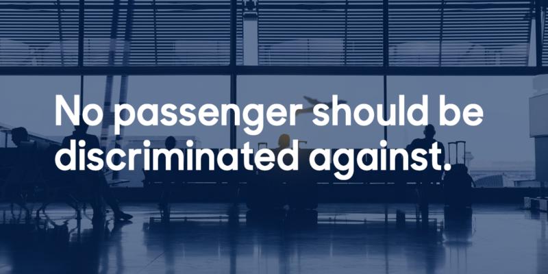 airline discrimination meta